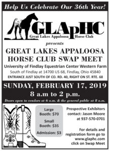 Great Lakes Appaloosa Horse Club Swap Meet